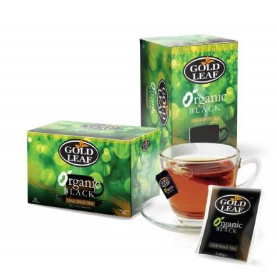 Organic Black Chai Spice Tea 20s